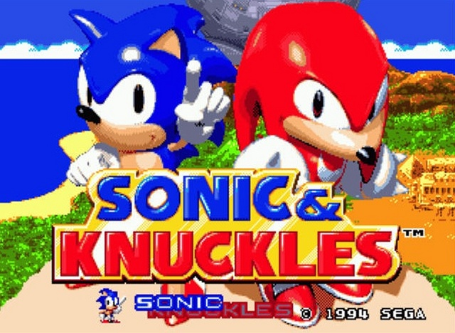 sonic et knuckles
