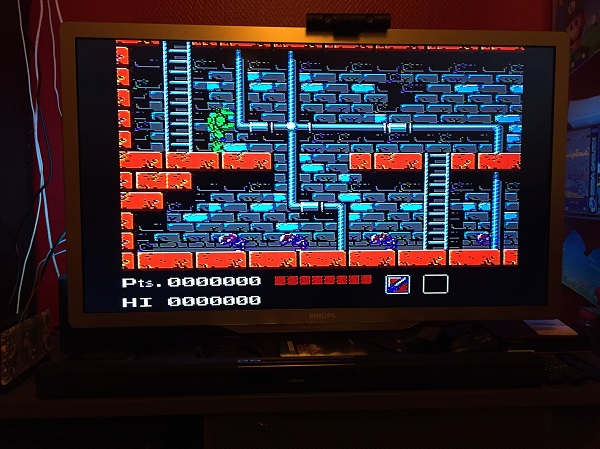 Test de la Nintendo Famicom