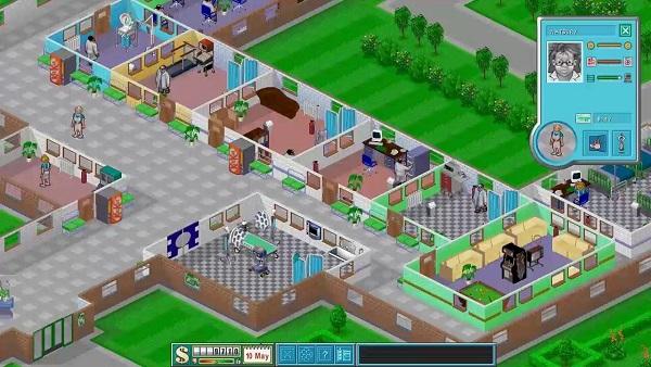 test de theme hospital