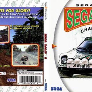 Test de Sega Rally 2 Sur Dreamcast