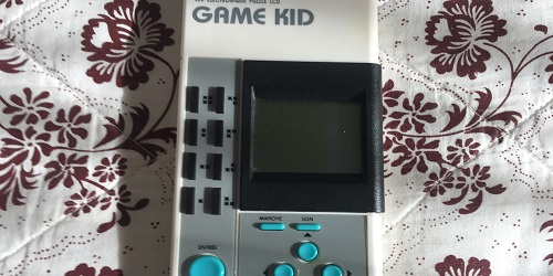 test console portable Game Kid