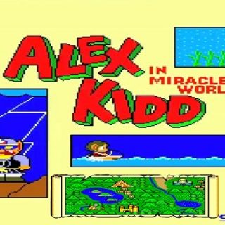 Test de Alex Kidd in a miracle world
