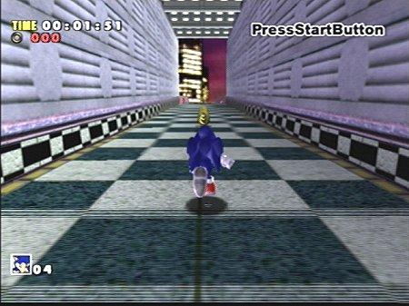 Test de SOnic Adventure sur Dreamcast