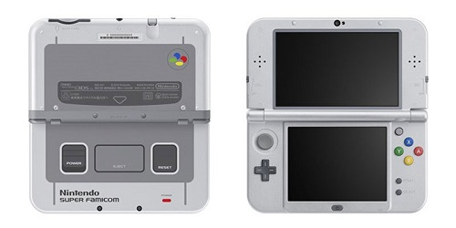 precommander new 3DS XL super nintendo edition
