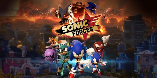 Test Sonic Forces Nintendo Switch