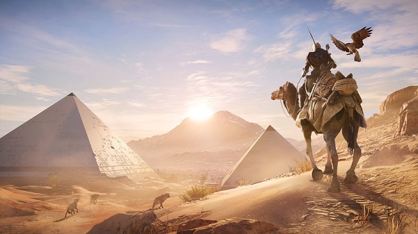 Test Assassin's Creed Origins sur Xbox One X
