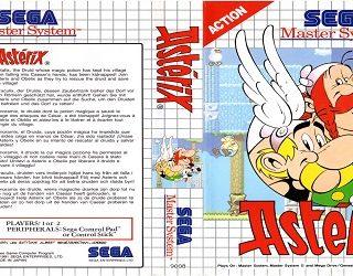 Test de Asterix sur Sega Master System