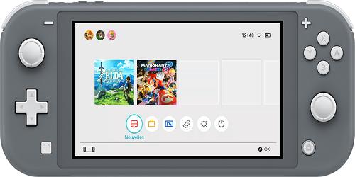 comparatif Nintendo Switch Nintendo Switch Light