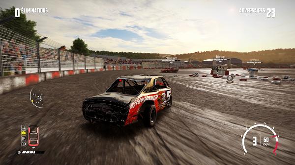 test de Wreckfest Xbox One X