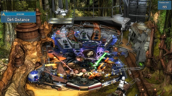 Test de Star Wars Pinball