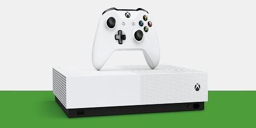 mon avis sur la xbox One S all digital