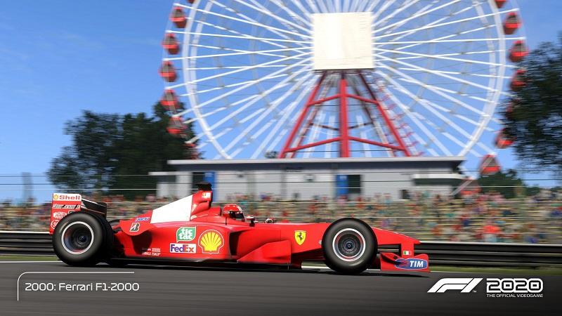 test de F1 2020