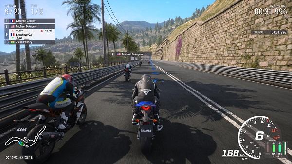 test de ride 4 sur PS5